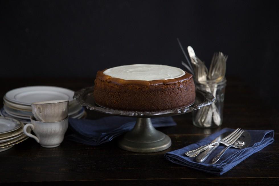 Pumpkin Cheesecake | Abraham Rowe Photography